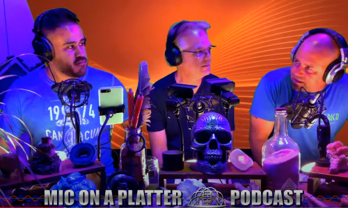 Join Paul on the recent edition of the Mic on a Platter vodcast